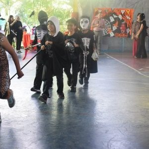 Halloween costume party and fun fair at BISA